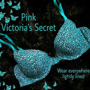 "Pink Victoria's Secret ""wear everywhere"" bra"